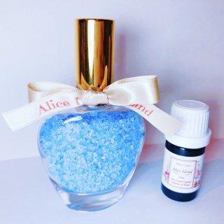 【雑貨】Perfume chakra salt (第6チャクラ) & Alice Land original  オーガニック精油 (33g+5ml)