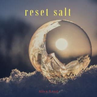 【雑貨】牡羊座 下弦の月限定 reset salt  (55g)