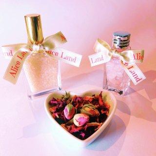 【雑貨】Perfume Rose salt  +  ローズクォーツ(22g+22g)