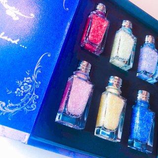 【食品】Jewelry stone salt  box (紫)