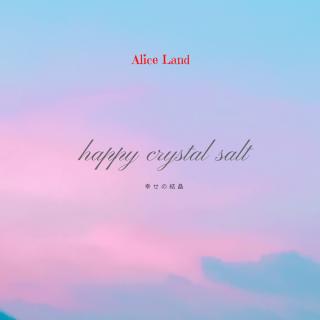 【雑貨】happy crystal salt 〜幸せの結晶〜 (111g)