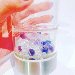 【雑貨】あなただけのstone water bottle & stone , salt set (stone water bottle +stone+salt15g)