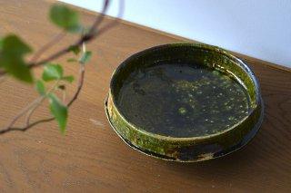 織部切立鉢