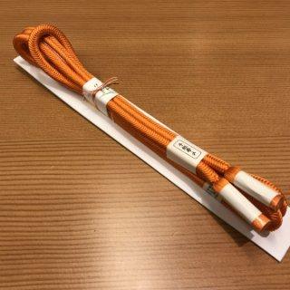 帯締め 洋角無地(橙色)