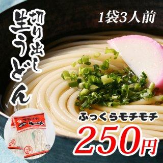 【神埼麺】切り出し生うどん 1袋3人前【ふっくらモチモチ】