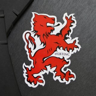 LBT_Lion Logo Vinyl Decals(2枚セット)