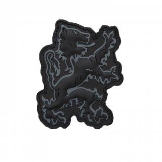 LBT_Lion Logo PVC Patch (Black)