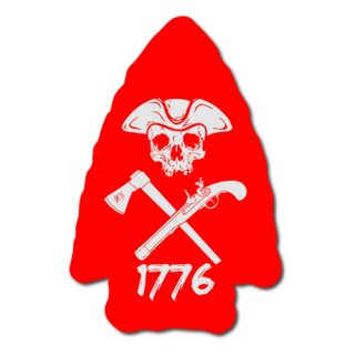 Moeguns Tactical_ARROWHEAD RED STICKER