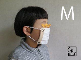 レザーハマノマスクホルダー(セット)子供用M,S,SS