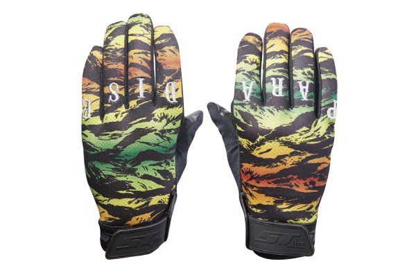 ST line× LOOP Magazine  SPECIAL CAMO GLOVES [PARADISE]