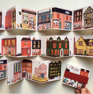 A Concertina Street Booklet Polly Fern