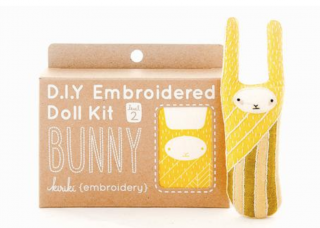 Bunny Embroidery Kit 刺繍キット(ウサギ)