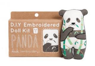 Panda Embroidery Kit 刺繍キット(パンダ)