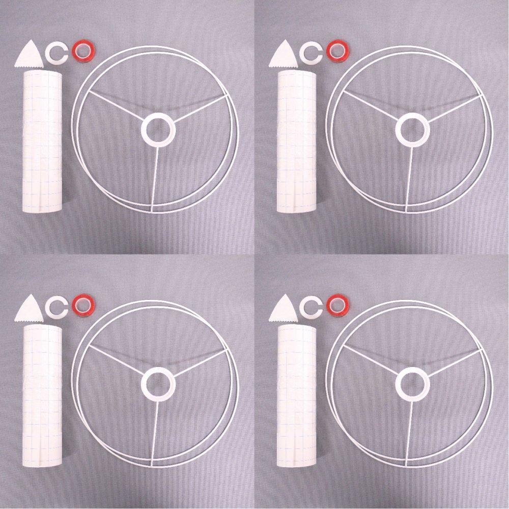 ランプシェード手作りキット( L ) グループセット Lamp Shade DIY kit ( L ) Group Set