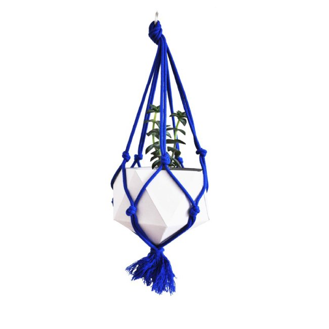 HANGING PLANTER DIY kit (Blue) ハンギングプランター DIY kit (青)