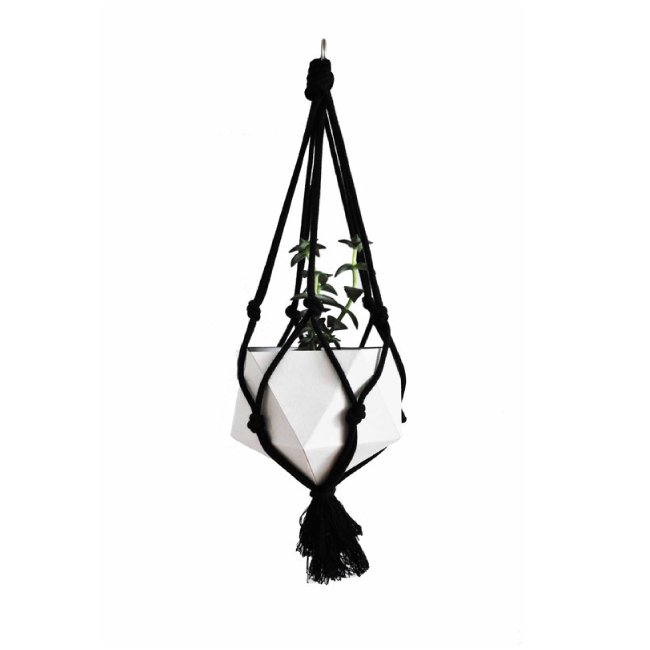 HANGING PLANTER DIY kit (Black) ハンギングプランター DIY kit (黒)