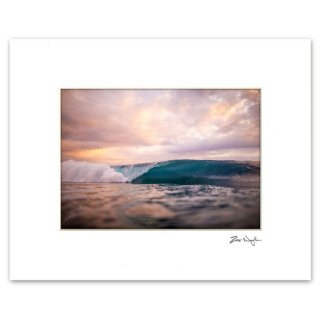 Zak Noyle<br>Matted Print<br>Painted Skies