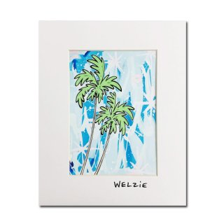 Welzie<br>アートプリント8×10inch<br>