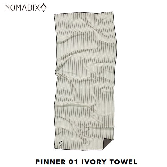 THE NOMADIX TOWEL <br>IVORY<br>