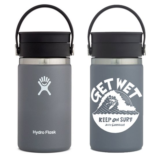 LOOSEMAN × Hydro Flask<br>コラボボトル12oz FLEX SIP<br>Stone
