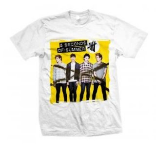 5 SECONDS OF SUMMER Album Shirt 14, Tシャツ
