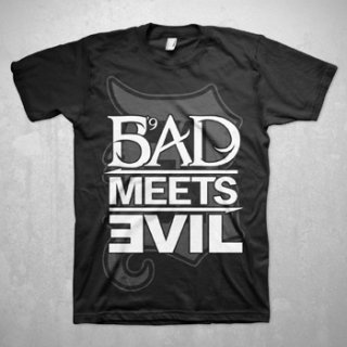 BAD MEETS EVIL Square Logo, Tシャツ