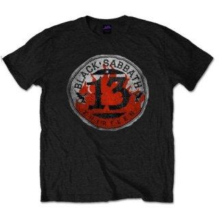 BLACK SABBATH 13 Flame Circle/black, Tシャツ
