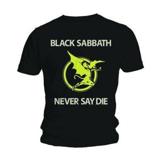 BLACK SABBATH Never Say Die, Tシャツ
