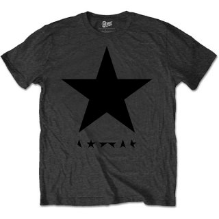 DAVID BOWIE Blackstar (on Grey), Tシャツ