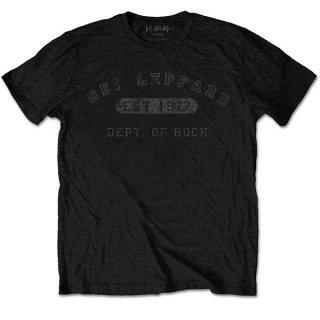 DEF LEPPARD Collegiate Logo, Tシャツ