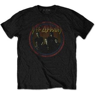 DEF LEPPARD Vintage Circle, Tシャツ
