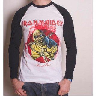 IRON MAIDEN Piece of Mind, ラグランTシャツ