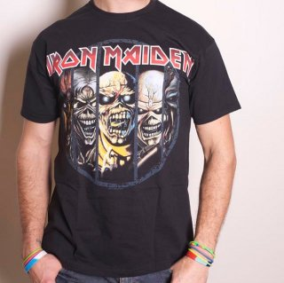 IRON MAIDEN Eddie Evolution, Tシャツ