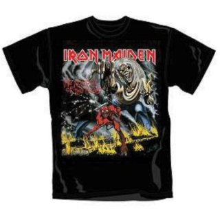 IRON MAIDEN Number of the Beast, Tシャツ