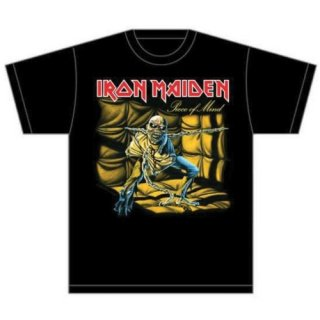 IRON MAIDEN Piece of Mind, Tシャツ