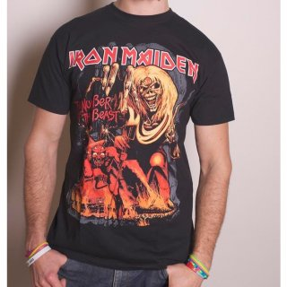 IRON MAIDEN Number of the Beast Graphic, Tシャツ