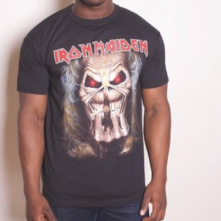 IRON MAIDEN Eddie Candle Finger, Tシャツ