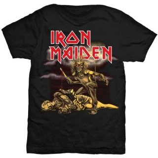 IRON MAIDEN Slasher with Skinny Fitting, レディースTシャツ