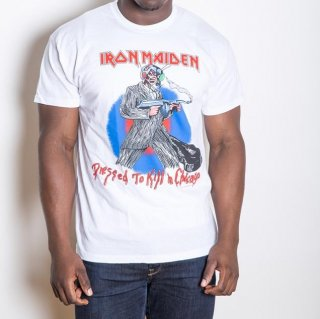 IRON MAIDEN Chicago Mutants with Back Printing, Tシャツ
