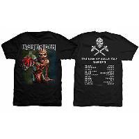 IRON MAIDEN The Book of Souls European Tour (Version 1), Tシャツ