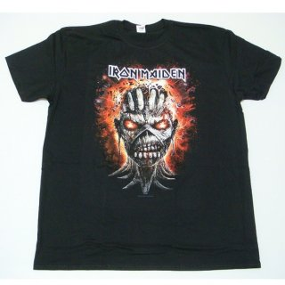 IRON MAIDEN Eddie Exploding Head, Tシャツ