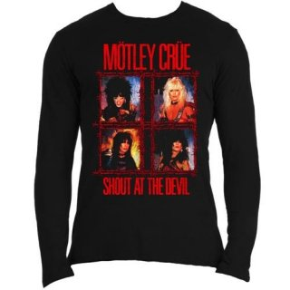 MOTLEY CRUE Shout Wire, ロングTシャツ