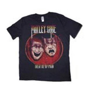 MOTLEY CRUE Theatre Of Pain With Puff Print Finishing, Tシャツ