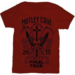 MOTLEY CRUE Final Tour, Tシャツ