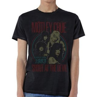 MOTLEY CRUE Vintage World Tour Devil, Tシャツ