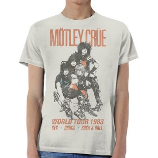 MOTLEY CRUE World Tour Vintage, Tシャツ
