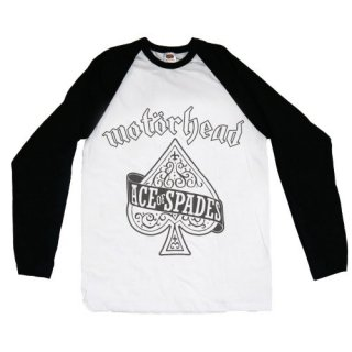 MOTORHEAD Ace of Spades, ラグランロングTシャツ