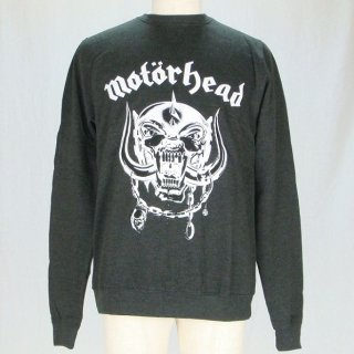MOTORHEAD England with Puff Print Finishing, スウェットシャツ