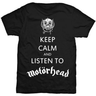 MOTORHEAD Keep Calm, Tシャツ