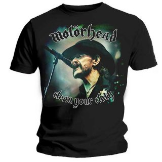 MOTORHEAD Clean Your Clock Colour, Tシャツ